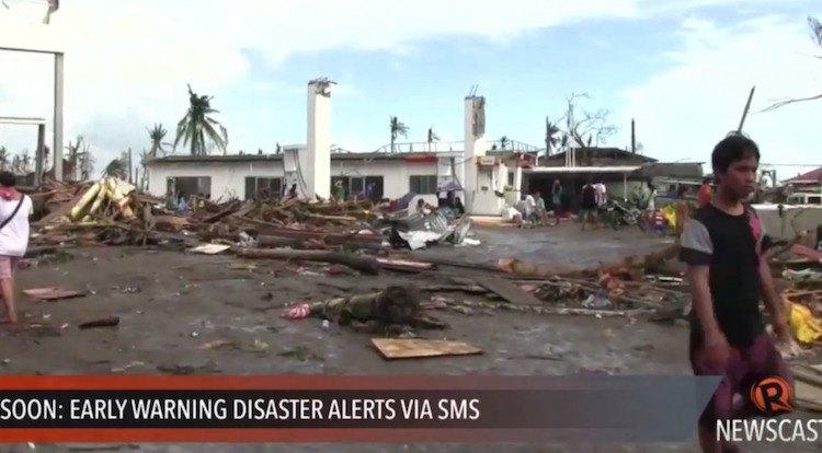 Hulp voor Filippijnen
